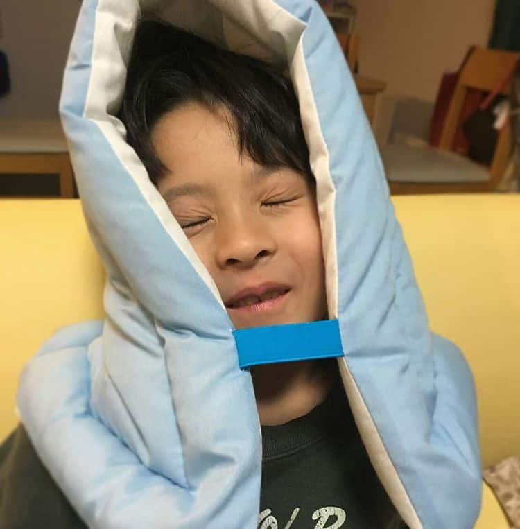 幼児用防災頭巾