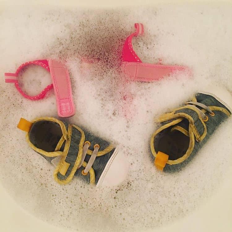 靴の匂い 石けんの洗い方