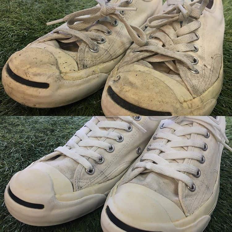 靴の匂い クリーニング