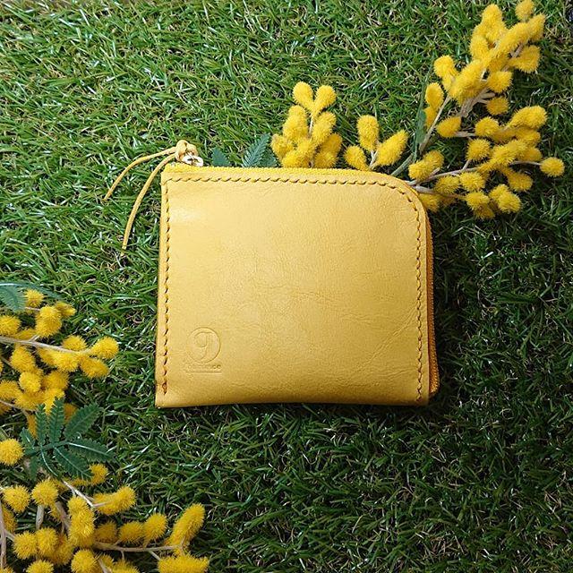 風水 黄色財布