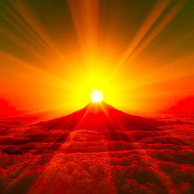 金運 富士山画像