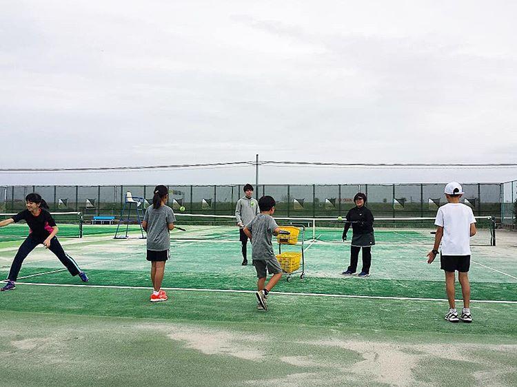 習い事ランニング テニス